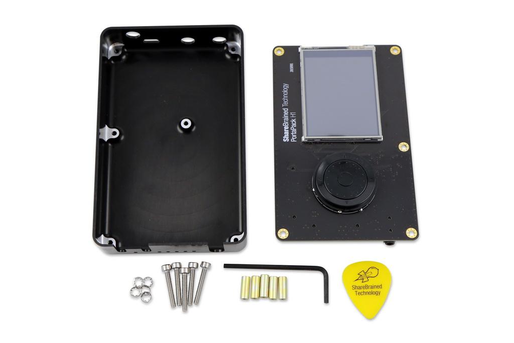 Antenna Kit PortaPack Porta Pack Hack RF One SDR Aluminum Case